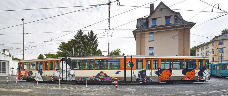 """""""Street art brazil"""" U-Bahn"""