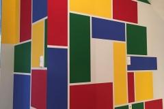 Wandgestaltung auf Kundenwunsch: Kinderbereich.